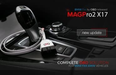 MAGPro2 x17 updated - BMW Fxx by OBD released