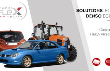 New solutions for Denso, Bosch, Marelli and Getrag